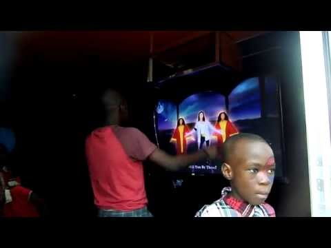 Michael Jackson rules at Mobile Video Game Truck Party in Abuja!!