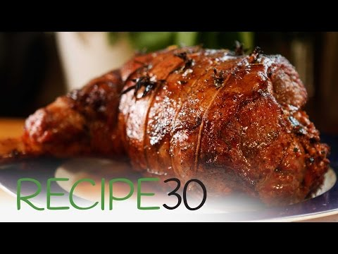 The Secret To A Juicy Smokey Leg Of Lamb - Cooked In BBQ Greek Style