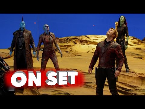 Guardians of the Galaxy Vol. 2: Behind the Scenes Movie Broll - Chris Pratt