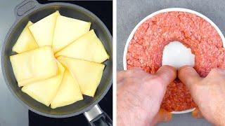 Растопим Сыр на Сковороде и Лучший в Мире Бургер Готов