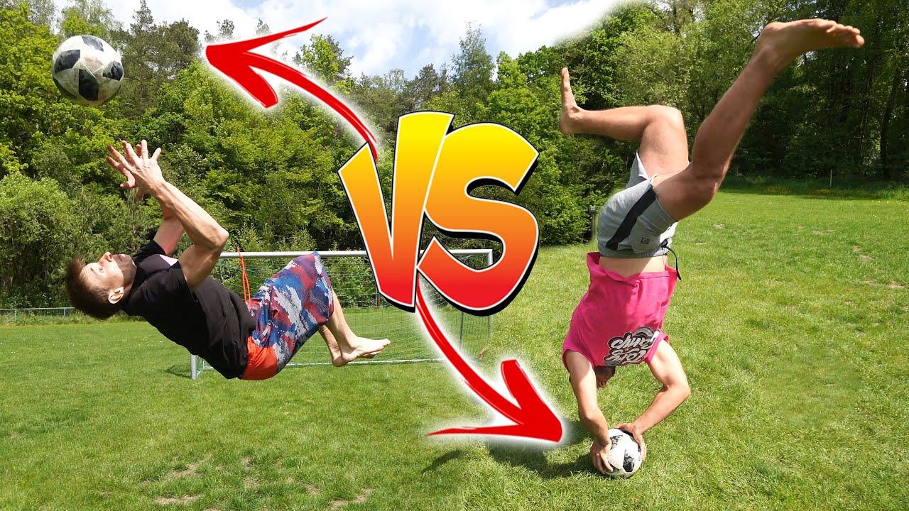 Parkourově Fotbalová Challenge | Tary vs. Háša