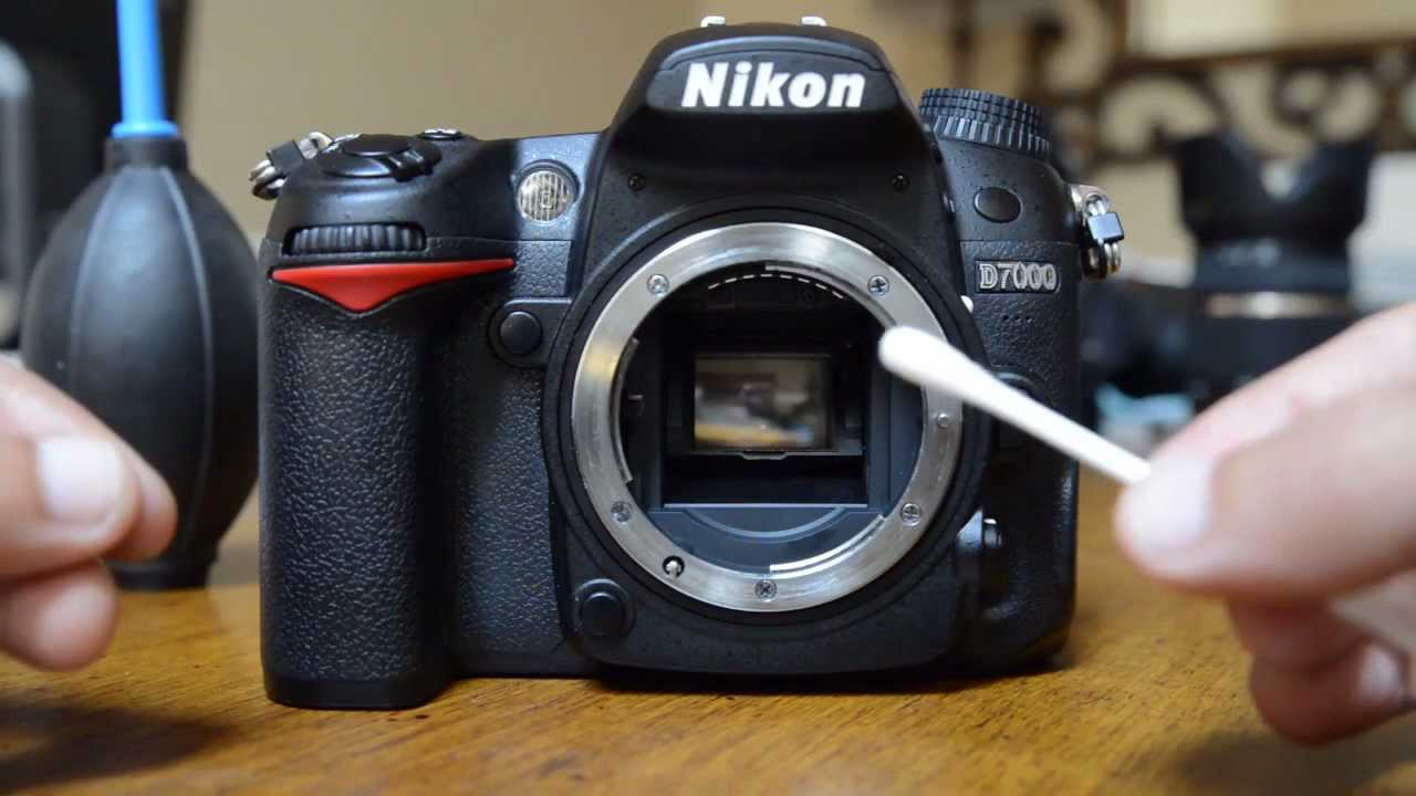 How To Clean Your Dslr Sensor And Mirror Youtube Diagram Of A Camera Digital Block