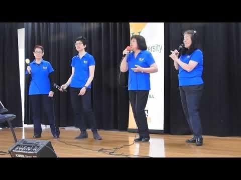 U3A Box Hill performance at an elder day activity centre 2017