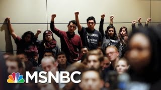 Hundreds Protest Speech By White Nationalist Richard Spencer At Texas A&M | MSNBC