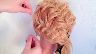 КРАСИВЫЕ ВЕЧЕРНИЕ/СВАДЕБНЫЕ ПРИЧЕСКИ.  Средний/ Низкий ПУЧОК Hairstyles Compilation 2018