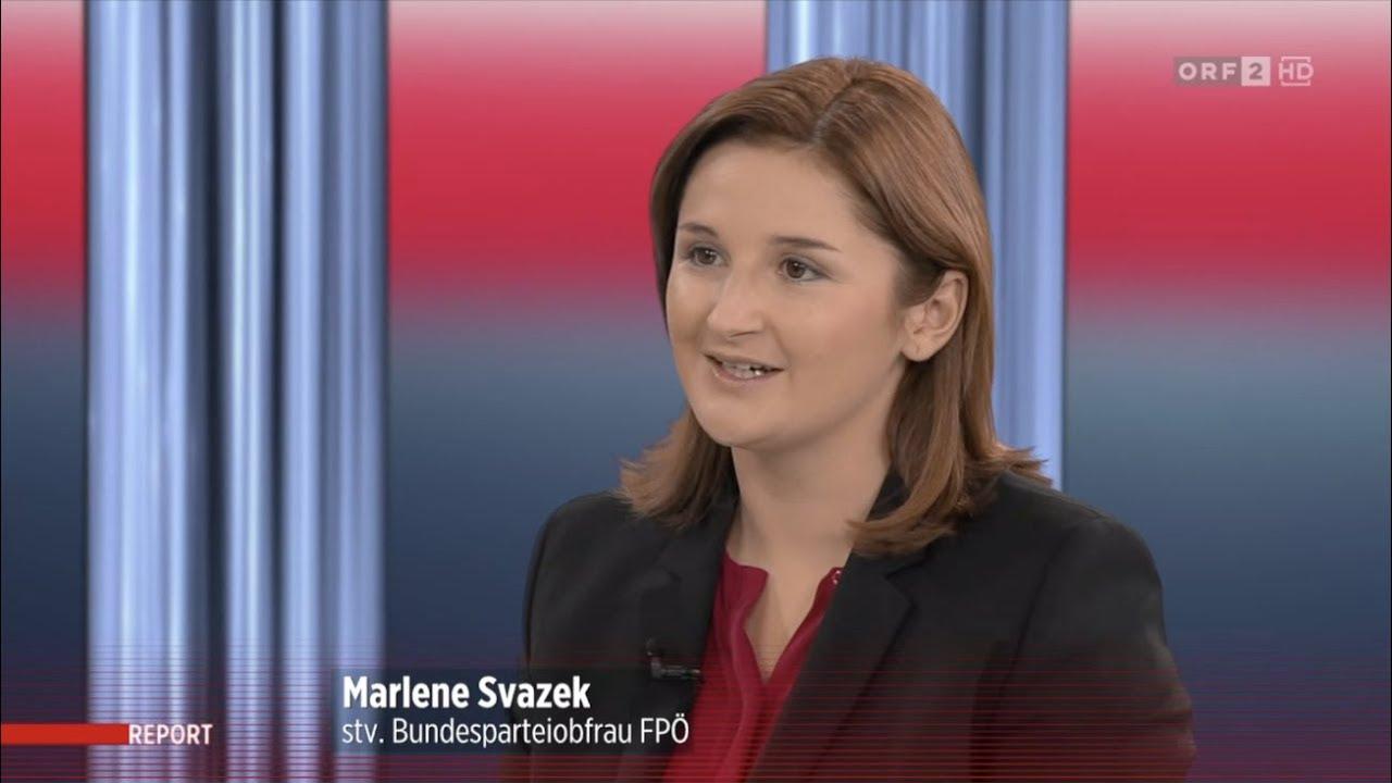 Marlene Svazek Orf Report Interview 17 9 2019 Youtube