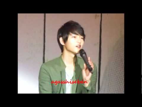 270512 Song Joong Ki ~ 두사람 (Two People)
