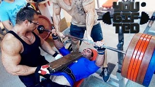 Травмы мне не помеха! Жим за 300 кг в экипировке. Павел Берлин