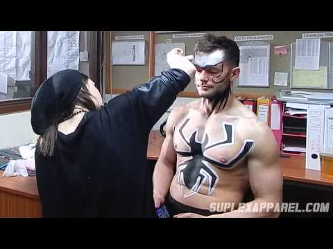 WWE Finn Bálor aka Prince Devitt - War Paint Time Lapse