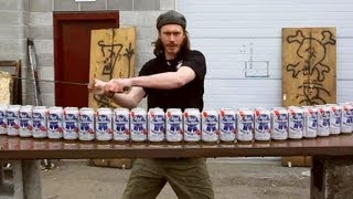 Max Vs 24 Beer Cans - You Have Been Warned thumbnail