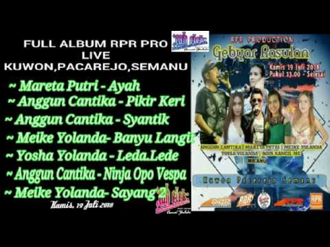 RPR PRO Live Kuwon, Pacarejo, Semanu, Gunungkidul, 19 Juli 2018
