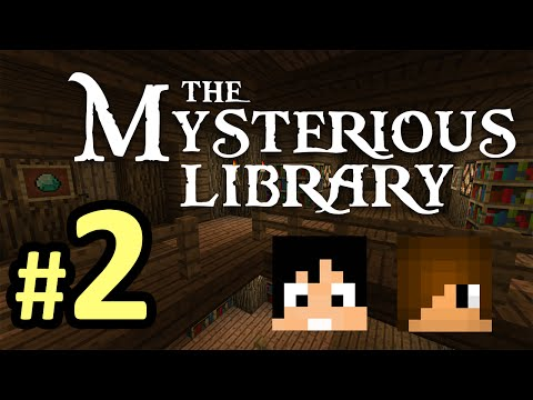 Tackle⁴⁸²⁶ Minecraft Custom Map - The Mysterious Library ห้องสมุดลึกลับ #2