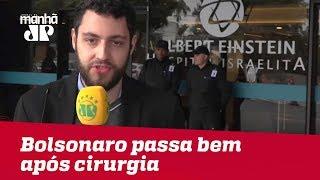Bolsonaro passa bem após cirurgia de emergência; filho diz que pai é 'forte como cavalo'
