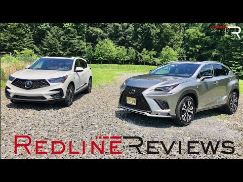 2019 acura rdx vs 2018 lexus nx 300 who makes the best luxury suv youtube. Black Bedroom Furniture Sets. Home Design Ideas