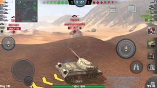 World of Tanks Blitz: IS-3 Gameplay