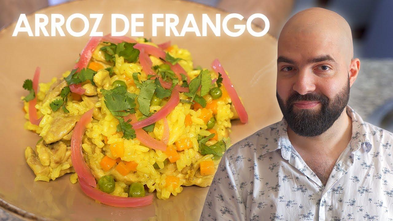 Chefe Jamon: Arroz de Frango