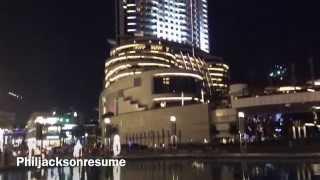 Revelation (The Address Downtown Burj Khalifa Dubai 2015)