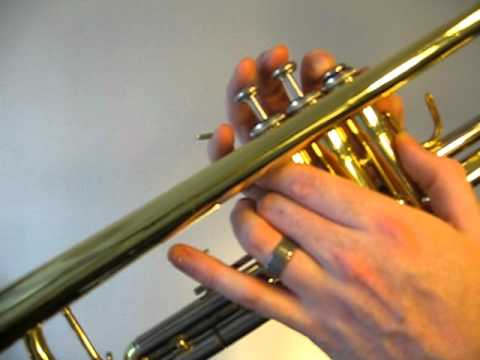 How to play the Trumpet C Sharp Major Scale (Concert B)