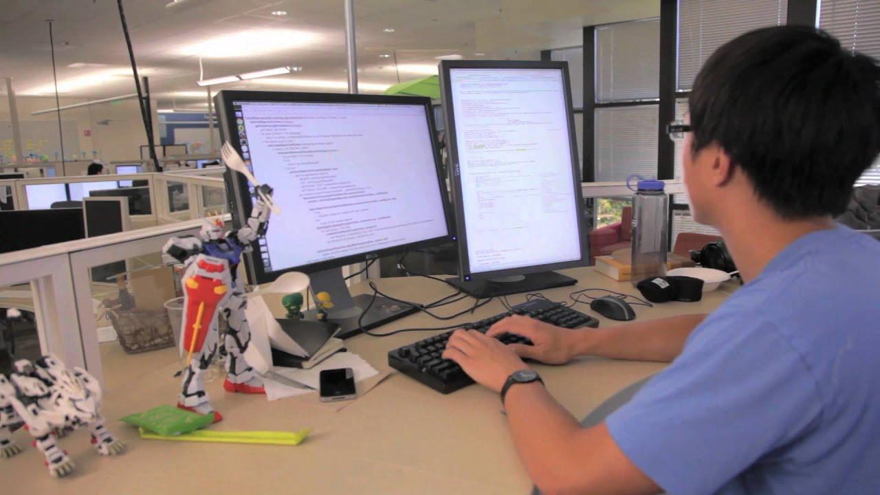 Work at LinkedIn: Jim Cai Software Engineer - YouTube