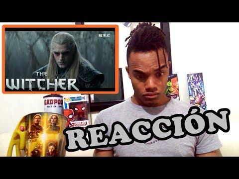 THE WITCHER trailer - REACCIÓN