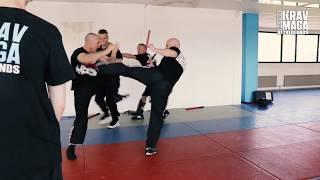 Multiple Attackers Seminar with Heath Leavitt, Institute Krav Maga Netherlands.
