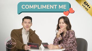 Hyun Bin And Son Ye-jin Shower Each Other With Compliments | Compliment Me Eng Sub