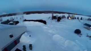 Post Snowpacalypse FPV of Nackawic Axe area