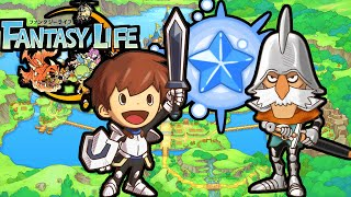 Fantasy Life 3ds: Monster Attack! Pet Bliss Bonus House Decor Mercenary Gameplay Walkthrough Part 2