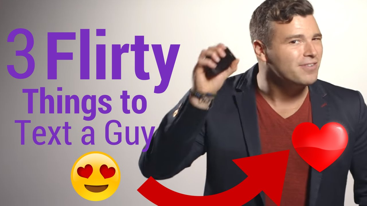 what to text guy you like