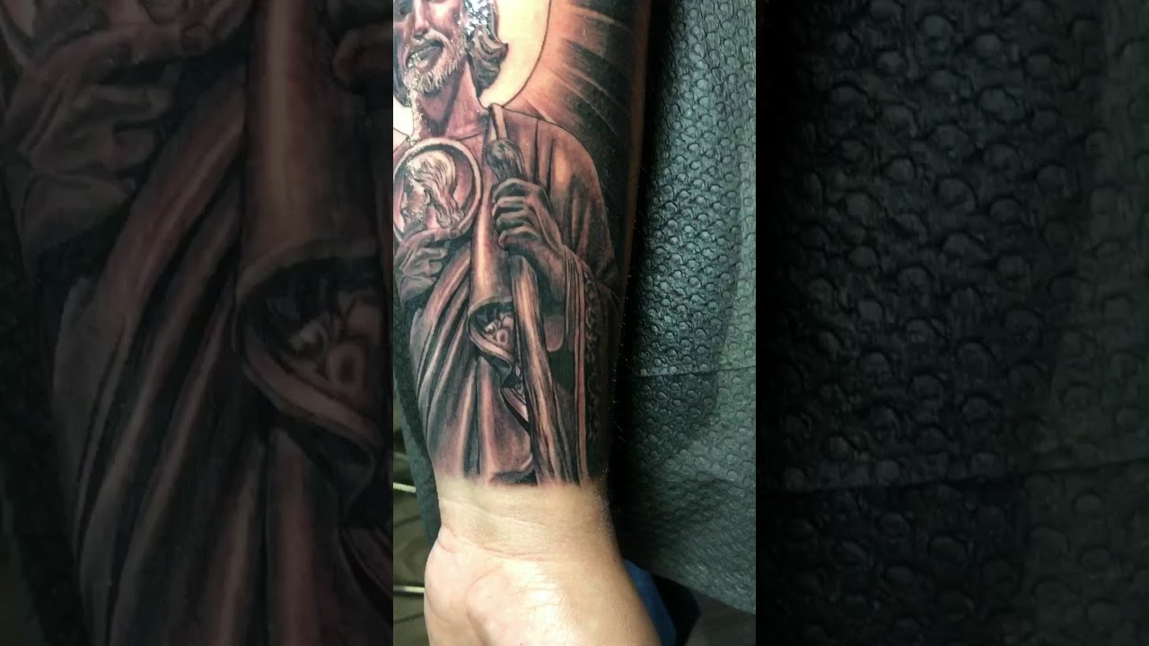 San Judas Tattoo Youtube