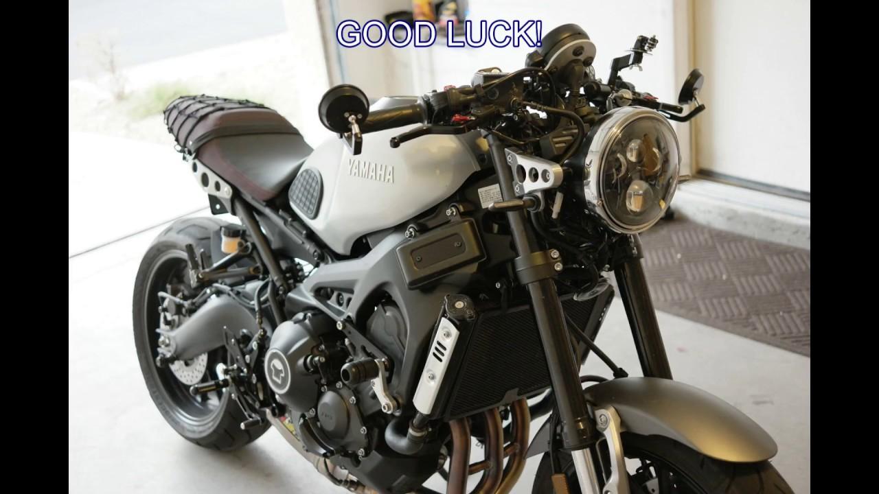 How To Install Sunpie 7 Quot Led Headlight On Yamaha Xsr900