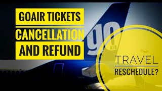 GoAir Flight   Bookings, Tickets cancellation and travel reschedule #Macropahad