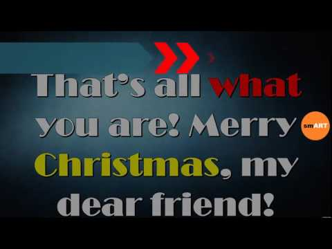 Christmas Greeting Words - What To Say On A Christmas Card - YouTube