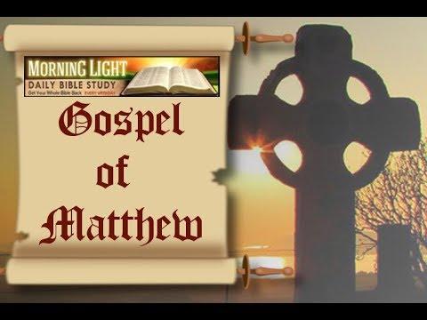 Morning Light - Matthew 27