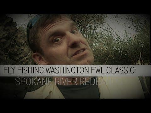 Fly Fishing Washington State FWL Classics Spokane River Rainbows