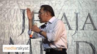 Anwar Ibrahim: Ceramah Merdeka Rakyat Di Kg Manjoi Ipoh Perak