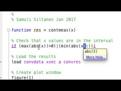 "Inverse Problems Lecture 4/2017: building a ""continuum"" convolution model, part 2/2"