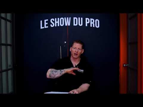 LE SHOW DU PRO - Who is Marc-Antoine Grondin, the profesionnal trainer ?