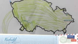 Co připomíná mapa ČR
