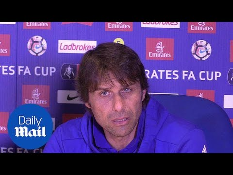 Chelsea's Antonio Conte Pays Tribute To Manchester Victims - Daily Mail