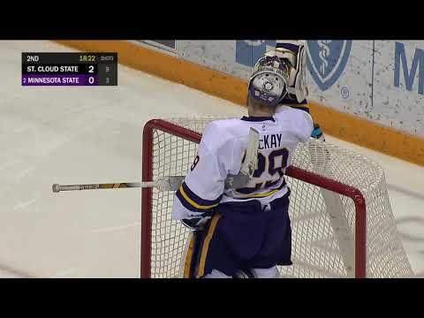 SCSU Men's Hockey Highlights - Mariucci Classic Game 1 Goals - SCSU Athletics