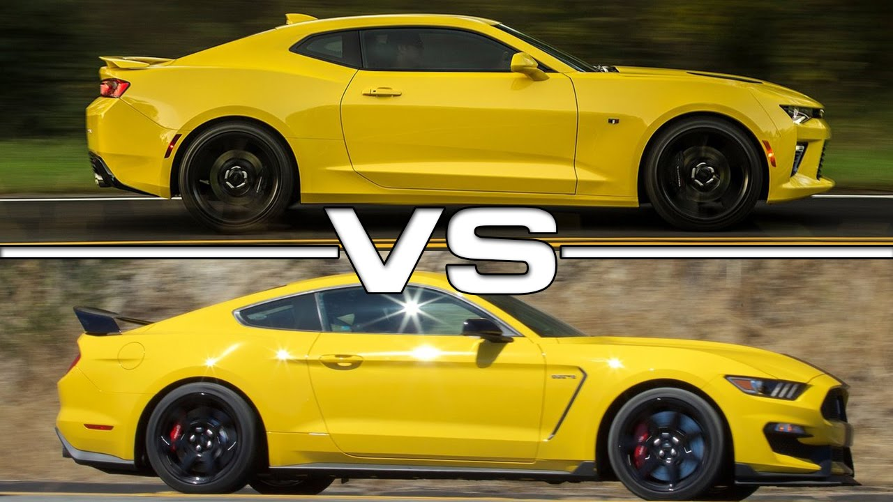 2016 Chevrolet Camaro Ss Vs 2016 Ford Mustang Shelby