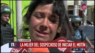 Motín, incendio y cuatro muertos en una comisaría de Esteban Echeverría