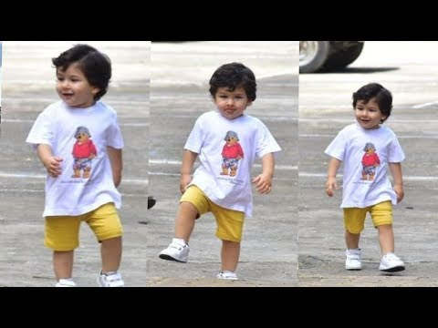Prince Taimur Ali Khan will make you go aww with his cute and super swagy with his ecpressions