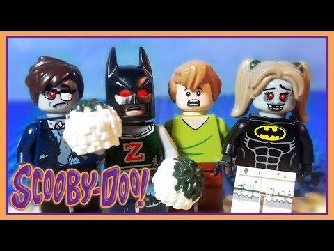 Scoo Doo Wrg Brick Bodies With The Lego Batman Superheroes Zombies