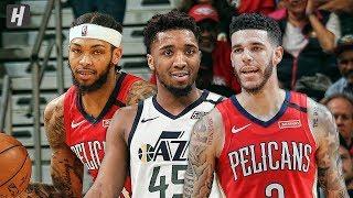 Utah Jazz vs New Orleans Pelicans - Game Highlights   January 16, 2020   2019-20 NBA Season