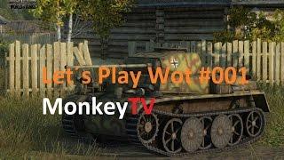 Let´s Play World of Tanks #001 Herzlich Willkommen! (Deutsch)