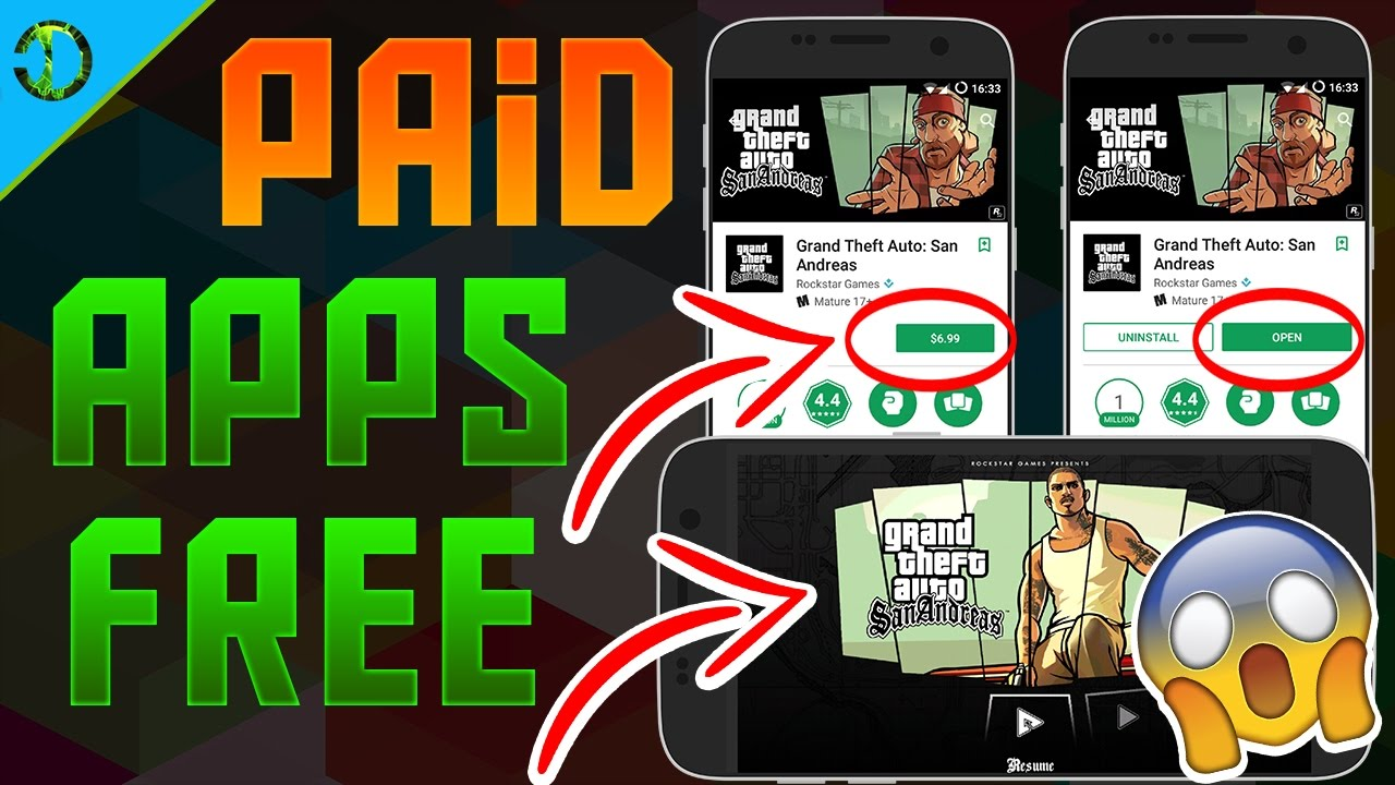 How To Download Paid Apps Games For Free On Android No Root 2017 Youtube