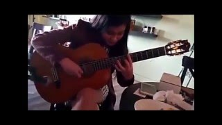 Serenade compposed by Cuong Manh Nguyen guitar by Phuong Thao