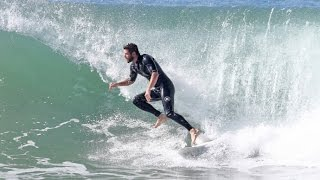 Liam Hemsworth Catches Some Serious Waves In Malibu